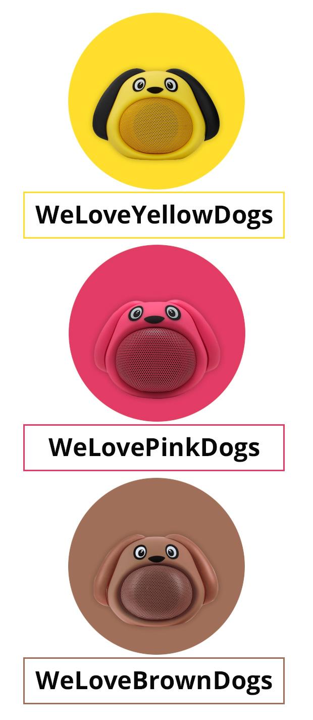 Gutscheincode WeLoveYellowDogs WeLovePinkDogs WeLoveBrownDogs